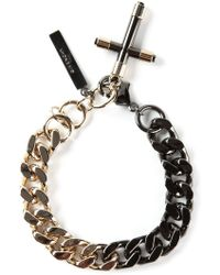 Givenchy Cross Bracelet - Lyst