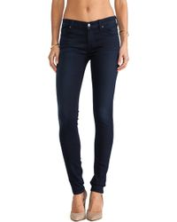 7 For All Mankind Skinny - Lyst