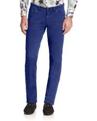 Etro Straight-Leg Jeans - Lyst