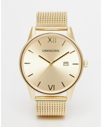Unknown - Dandy Mesh Strap Watch - Lyst