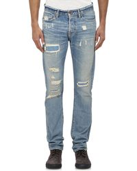 Bliss and Mischief - Rip & Repair Jeans - Lyst