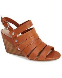 Naya - 'lassie' Studded Leather Slingback Sandal - Lyst