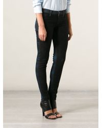 Hudson Krista Vice Versa Super Skinny Jeans - Lyst