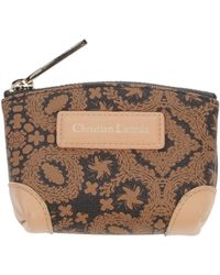 Christian Lacroix Brown Coin Purse - Lyst