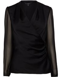 Coast Darcy Wrap Blouse - Lyst