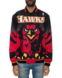 Mitchell & Ness The Atlanta Hawks Warm Up Jacket - Lyst