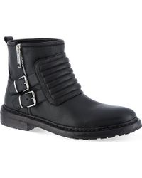 Burberry Keating Flat Ankle Boot - Lyst