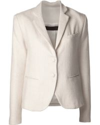 The Elder Statesman - Fitted Tux Jacket - Lyst