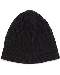 Theory - Shmoll Cable-knit Beanie Hat - Lyst