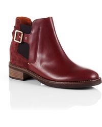 BOSS Orange - Leather Boots 'Damar' - Lyst