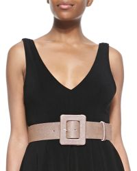 Alice + Olivia Wide Waist Belt - Lyst