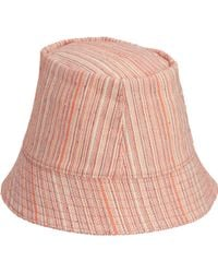 Barneys New York Cabana Striped Bucket Hat - Lyst