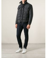 Moncler Quilted Panelled Jacket - Lyst
