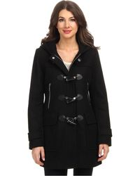 Michael by Michael Kors Wool Horn Toggle W Hood - Lyst