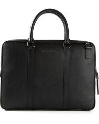Burberry London Black Classic Briefcase - Lyst