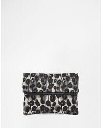 Cheap Monday - Printed Clutch Bag - Lyst
