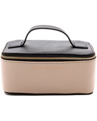 Marc By Marc Jacobs Sophisticato Colorblocked Small Travel Cosmetic Case - Black Multi - Lyst
