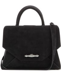 Givenchy Obsedia Small Suede Tote - Lyst