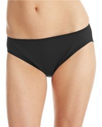 Lauren by Ralph Lauren Solid Hipster Swim Bottoms - Lyst