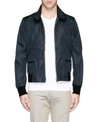Paul Smith Darted Nylon Bomber Jacket - Lyst
