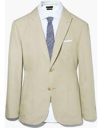 Mango - Cotton Linen-Blend Suit Blazer - Lyst