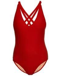 Rachel Comey Dive Scoop-Back Swimsuit - Lyst