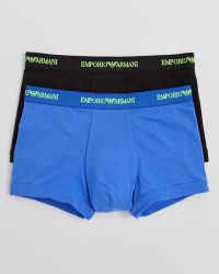 Emporio Armani Stretch Cotton Boxer Briefs - Lyst