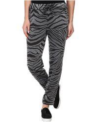 Chaser Zebra Slouchy Pant - Lyst
