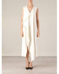 Maison Rabih Kayrouz Fringed Dress - Lyst