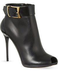 Alexander McQueen Korbach Heeled Boots - Lyst