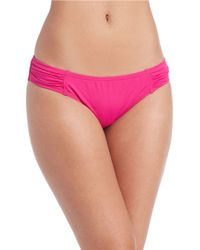 Tommy Bahama - Pearl Side Shirred Hipster Bottom - Lyst