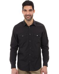 Calvin Klein Ls Yarn Dyed End On End Check Woven Shirt - Lyst