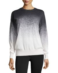 Catherine Catherine Malandrino Ombre Long-sleeve Sweater - Lyst