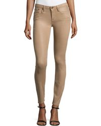 Helmut Lang Slim-Fit Ankle Pants - Lyst