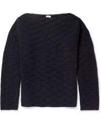Loewe Boiled Cashmere Sweater - Lyst