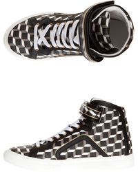 Pierre Hardy High Top Cube Trainers - Lyst