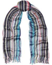 Missoni Metallic Crochet-knit Scarf - Lyst