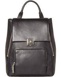 Modalu - Agatha Large Leather Rucksack - Lyst