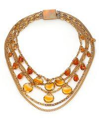 House of Lavande | Vintage Faceted Multi-strand Necklace | Lyst