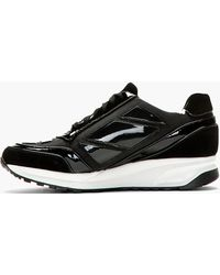 Alejandro Ingelmo Black Panelled Running Shoes - Lyst