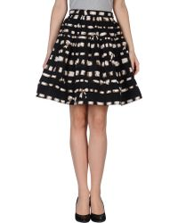 RED Valentino Knee Length Skirt - Lyst