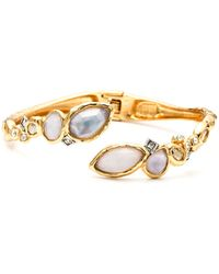 Alexis Bittar Elements Rocky Bypass Bangle - Lyst