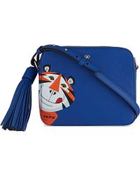 Anya Hindmarch Frosties Leather Crossbody Bag - For Women blue - Lyst