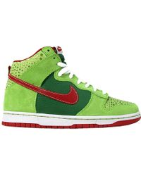 "Nike Sb Dunk High Pro ""Dr. Feelgood"" green - Lyst"