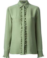 Gucci Frill Detail Shirt - Lyst