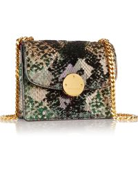 Marc Jacobs Trouble Sequin-Embellished Python Shoulder Bag - Lyst
