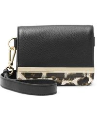 Diane von Furstenberg Voyage Leather Hip Mini Belt Bag - Lyst