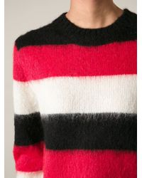 Diesel Striped Sweater - Lyst