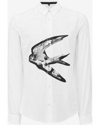 McQ Alexander McQueen | Swallow Shirt | Lyst