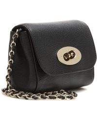 Mulberry Mini Lily Leather Shoulder Bag - Lyst